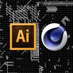 Cinema 4D と Illustrator の連携とCV-ArtSmart
