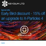 INSYDIUM X-Particles4 アップグレードのクーポンコード記入忘れ 返金申請