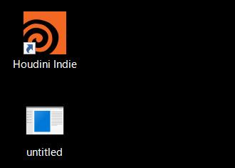 Steam で Houdini Indie を購入してみました